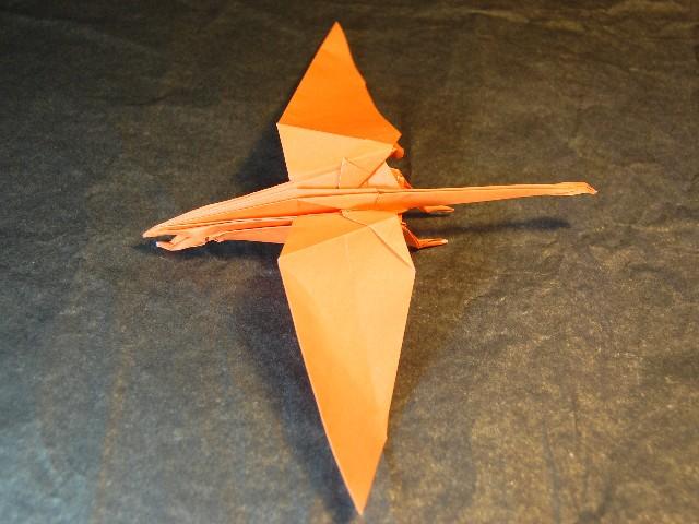 折り紙 モササウルス